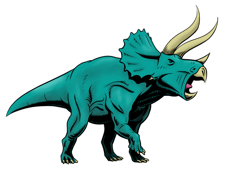 Drawing triceratops- final